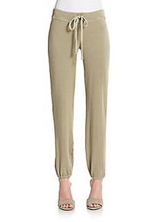 James Perse Stretch Cotton Sweatpants