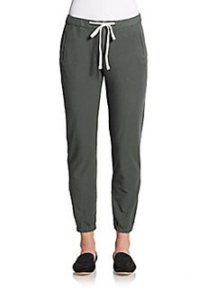 James Perse Stretch Cotton Track Pants