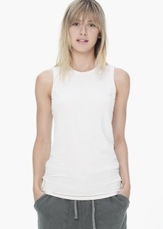 James Perse SUEDED JERSEY SKINNY TANK