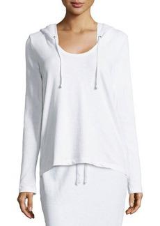 James Perse Terry Cloth Long-Sleeve Hoodie