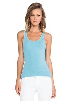 James Perse The Daily Tank in Blue