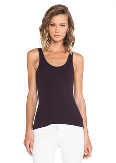 James Perse The Daily Tank in Brown