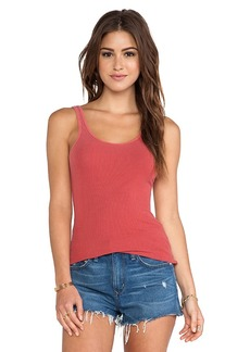 James Perse The Daily Tank in Red