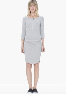 James Perse THERMAL HENLEY DRESS
