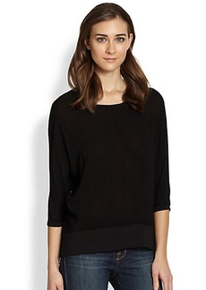 James Perse Voile Sweatshirt
