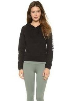James Perse YOSEMITE Raglan Pullover Hooded Sweatshirt