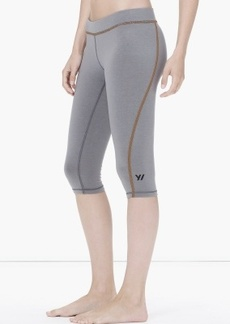 James Perse YOSEMITE SPIRAL SEAM YOGA CAPRI