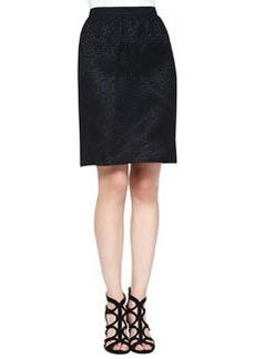 Corded Lace Skirt, Black   Corded Lace Skirt, Black
