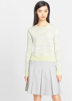 Jason Wu Abstract Stripe Crewneck Sweater