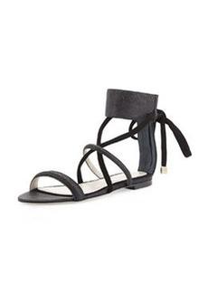 Jason Wu Ankle-Strap Flat Sandal