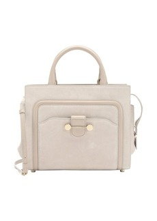 Jason Wu beige leather trimmed suede 'Daphne' convertible tote