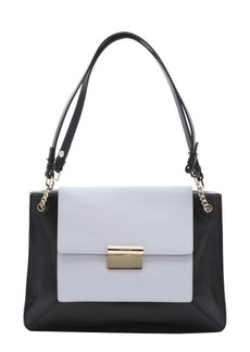 Jason Wu black and grey leather 'Christy' shoulder bag