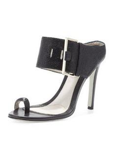 Jason Wu Buckled High-Heel Slide Sandal