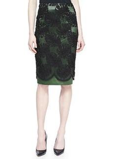 Jason Wu Corded Lace Overlay Skirt