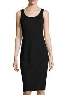 Jason Wu Corset-Back Ponte Dress, Black