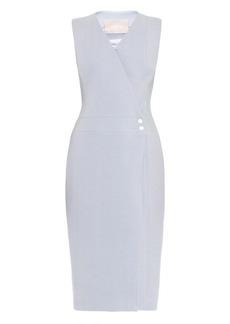 Jason Wu Crepe sleeveless wrap dress