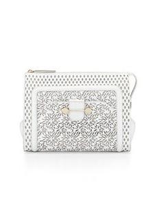 Jason Wu Daphne Laser-Cut Clutch Bag, Ivory