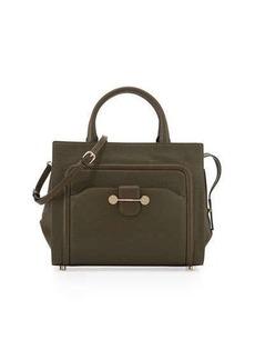 JASON WU Daphne Leather Crossbody Bag, Dark Olive