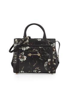 JASON WU Daphne Printed Leather Crossbody Bag, Multicolor