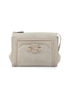 Jason Wu Daphne Suede Clutch Bag, Beige