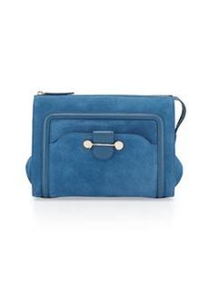 Jason Wu Daphne Suede Clutch Bag, Blue
