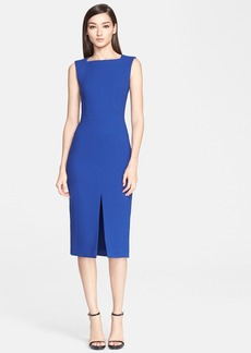 Jason Wu Double Face Crepe Sleeveless Dress
