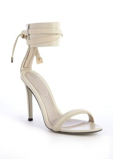 Jason Wu dove leather anklestrap heel sandals