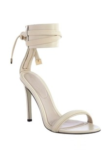 Jason Wu dove leather cuff detail sandals