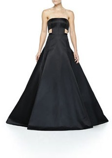 Jason Wu Duchess Satin Cutout Gown