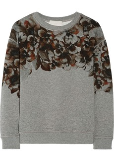 Jason Wu Floral-print cotton sweatshirt