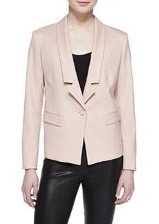 Jason Wu Gabardine One-Button Jacket