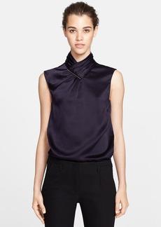 Jason Wu Hammered Silk Blouse