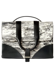 Jason Wu 'Hanne' Printed Calfskin Leather Messenger Bag