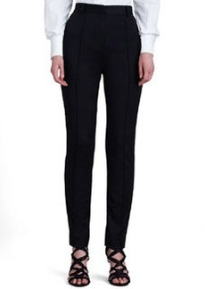 Jason Wu High-Waist Stovepipe Pants, Black