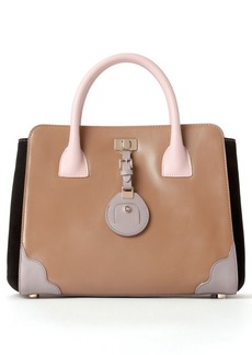 Jason Wu 'Jourdan' Calfskin Leather Crossbody Tote