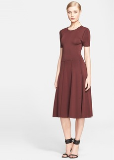 Jason Wu Knit Fit & Flare Dress
