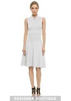Jason Wu Knit Flounce Polo Dress
