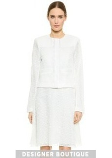 Jason Wu Lace Cropped Jacket