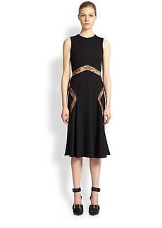 Jason Wu Lace-Insert Dress