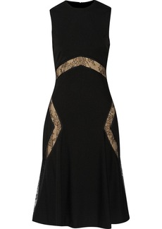 Jason Wu Lace-trimmed jersey dress