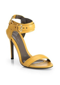 Jason Wu Leather Buckle Sandals