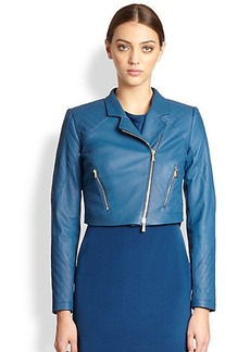 Jason Wu Leather Motorcycle Jacket