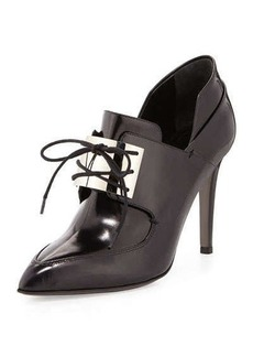Jason Wu Metal-Vamp Oxford Pump, Black