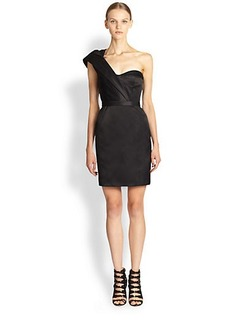 Jason Wu One-Shoulder Duchess Satin Dress