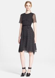 Jason Wu Paisley Print Silk Dress