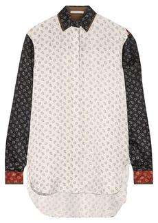 Jason Wu Paisley-print silk shirt