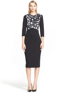 Jason Wu Print Bodice Jersey Dress (Nordstrom Exclusive)