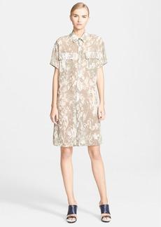 Jason Wu Print Silk Chiffon Shirtdress