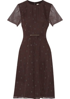 Jason Wu Printed silk-chiffon dress