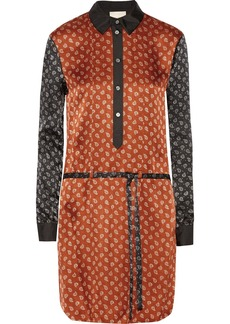 Jason Wu Printed silk shirt dress